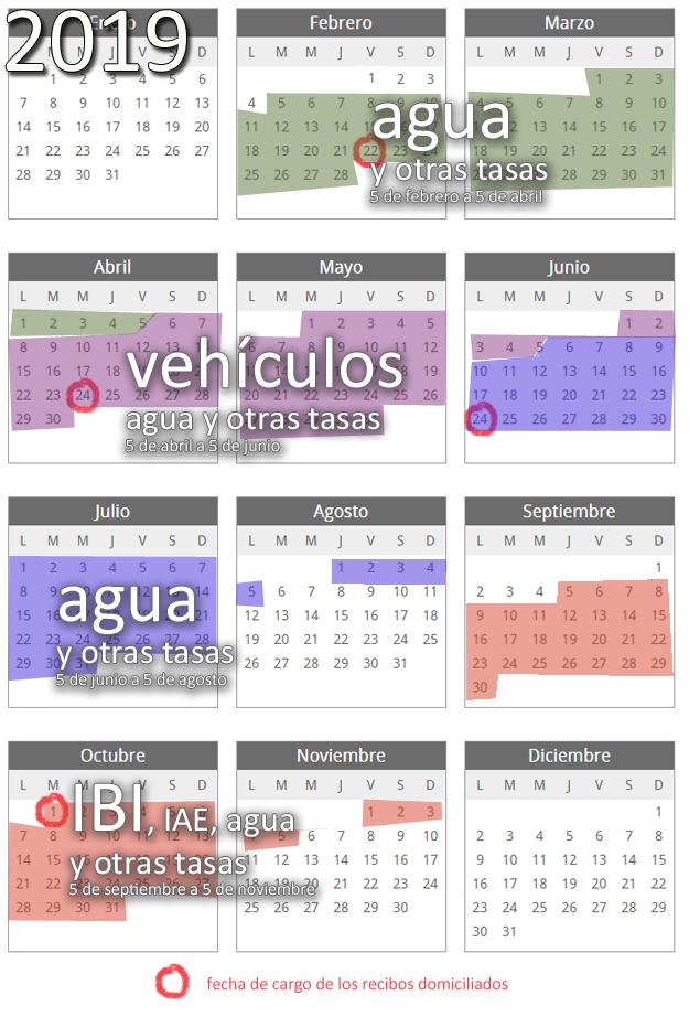Calendario Fiscal 2019 Espana.Calendario Fiscal 2019 Reval Diputacion De Valladolid